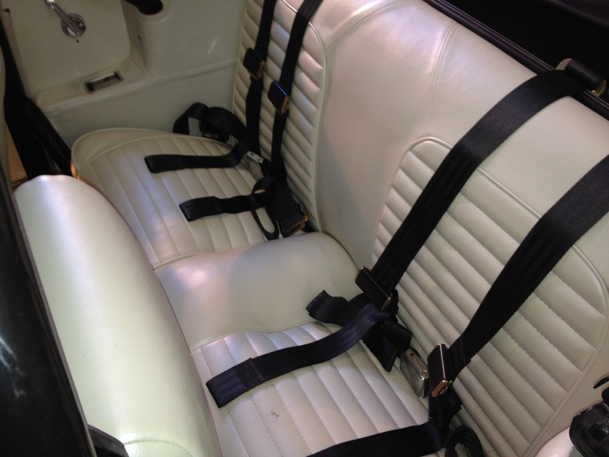 3 point seat belts in convertible - Vintage Mustang Forums